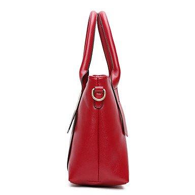 Onorevoli PU Tempo libero Nuovo stampate su una borsa a tracolla borsetta,marrone Brown