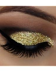 Glitter Eyes - GH5 Holographic Green Gold Glitter Eye Eyeshadow Eye Kit Shadow Large 5ml Pot