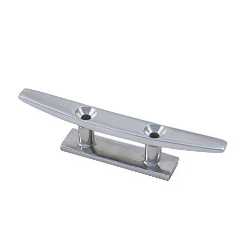 Sprenger, Belegklampe aus Edelstahl AISI 316, 2-Loch, in fünf verschiedenen Größen (150 mm) -