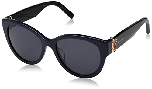 Marc Jacobs Damen MARC 181/S IR 9N7 54 Sonnenbrille, Bluette Black/Grey Blue,