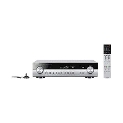 Yamaha AV-Receiver RX-S602 MC titan – Slimline Netzwerk-Receiver mit kraftvollem 5.1 Surround-Sound - für packendes Home Entertainment – Music Cast und Alexa kompatibel