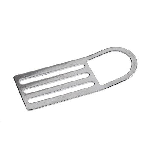MagiDeal Tauchgewichte, -gürtel Zubehör Edelstahl Bleigurt Riemen Schnalle mit D-Ring Für 5cm Gurtband