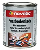 novatic Fussbodenlack, rotbraun