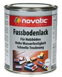 farbe garagenboden novatic Fussbodenlack, rotbraun