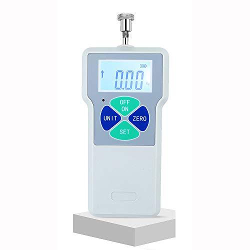 LSSLSS Digital LCD HD Dynamometer, ZugprüFgeräT, Federdynamometer, ManometerprüFgeräT, Wiederaufladbar, Keine Batterie Erforderlich. -