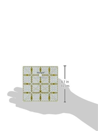 Test Dritz PRYM 4 x 4-Zoll Universal Lineal mit Zoll Grid Maßstab ...