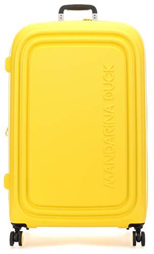 Mandarina Duck Logoduck + Maleta 4 Ruedas Amarillo