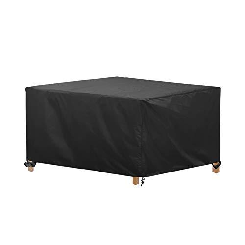 awnic copertura tavolo da giardino telo copri tavolo sedie mobili resistente allo strappo impermeabile telo oxford 170x115x71cm