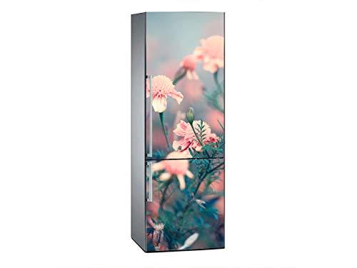Oedim Vinilo Frigorífico Flores Rosas 185x60cm |