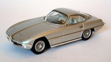 Lamborghini 350 GTV 1963 Silver Lights Closed 1:43 Model 61122