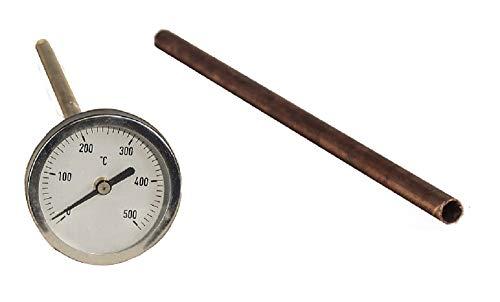 ALFARERIA DUERO PIROMETRO DE Temperatura para Horno DE LEÑA 30 CM