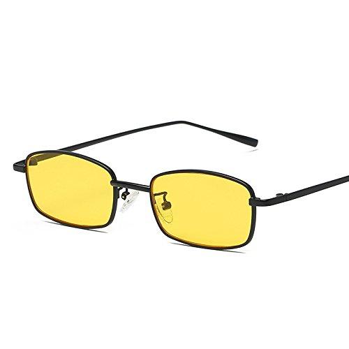 ANSKT Retro quadratische Sonnenbrille, 2UV 400 Outdoor-Sportbrillen polarisierte Sonnenbrillen Reitbrillen, geeignet zum Skifahren von Golf-Bikes beim Fischen mit Baseball