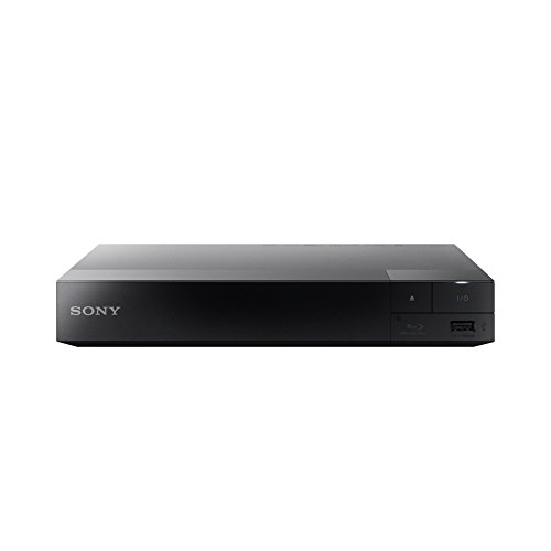 SONY Blu-ray-Player BDP-S3500, ohne Kodierung, Smart WiFi ICOS Blu-ray Zonen A, B und C, DVD Regionen 1 - 8. Full HD 1080p DLNA Youtube, Netflix usw. HDMI- und Koaxial-Audio-Ausgang