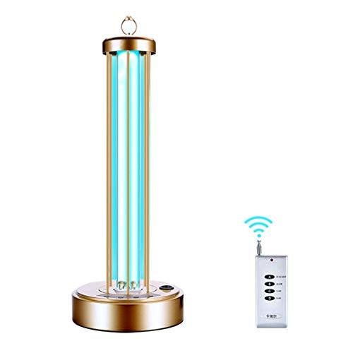 MY1MEY UV Desinfektionslampe 36/60 Watt Tischlampe Fernbedienung Timer Sterilisationslampe Tragbare Luftsterilisatorlampe Deodorant Licht (Ozonfrei/Ozonfrei)