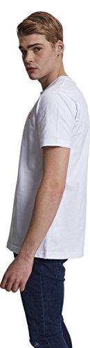 Mister Tee (MISUQ) Herren Peace Tee T-Shirt white