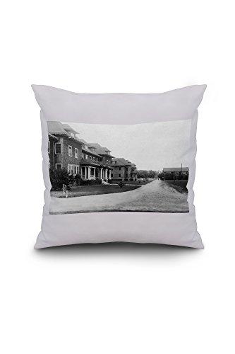 davis-california-university-farm-north-south-dorms-view-20x20-spun-polyester-pillow-case-white-borde