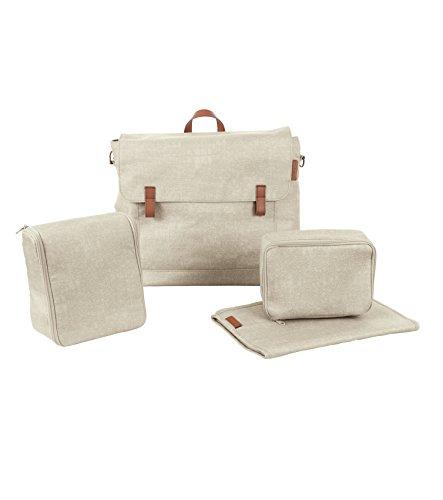Maxi Cosi Modern Bagpraktische Wickeltasche mit vielen extras, Thermobox, Wickelunterlage, Thermobox, Kulturtasche, Baby-Tasche, Windel-Tasche, beige (Die Moderne Wickeltasche)