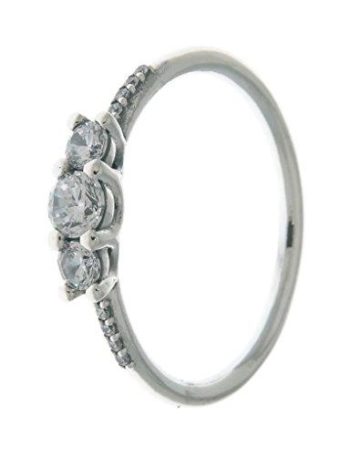 PANDORA Fairytale Sparkle Ring, Clear CZ 196242CZ-58 EU 8.5 US