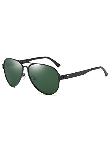 DUCO Herren Sonnenbrille Fliegerbrille Sonnenbrille Verspiegelt Polarisiert für Den Fahrer 3028