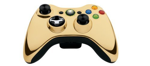 ontroller-Gold Chrom Edition: Wireless Color: Gold Chrom Portable Consumer Electronic Gadget Shop ()
