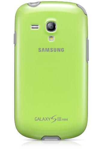 Samsung EFC-1M7BGEGSTD Protective Cover per Galaxy S3 Mini, Verde