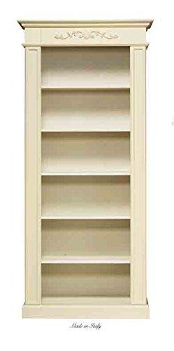 Libreria in legno L'ARTE DI NACCHI disponibile in diverse rifiniture 4683G/AV