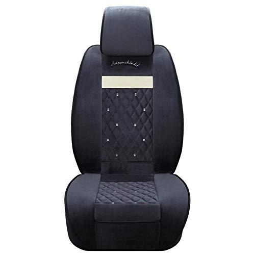 FancyU Auto Heizkissen, Plüsch Heizung Autositz Winter Spezielle 12V 24V Universal Car Seat Single Pad (Beheizte Autositze Kit)
