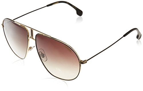 Carrera Unisex-Erwachsene Bound HA 2M2 Sonnenbrille, Schwarz (Black Gold/Brwn Sf), 62