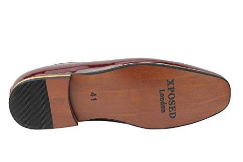 Xposed ,  Herren Slipper Maroon-Patent