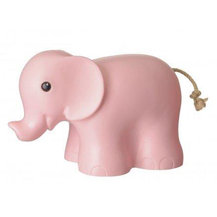 EGMONT - Lampe éléphant rose clair