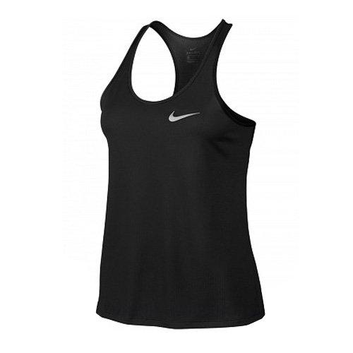 Nike Damen Breathe Rapid Tanktop, Black, XL