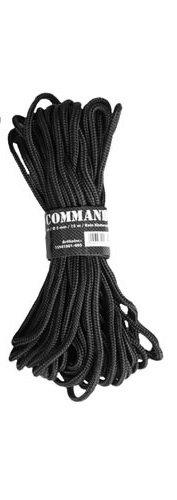 g8ds® Commando Seil SCHWARZ 5MM Outdoor 5mm, 7 mm oder 9mm (5 mm) -