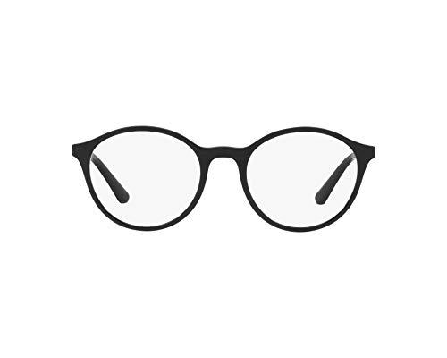Ray-Ban Damen Brillengestelle 0VO5223, Schwarz (Top Black/Transparente Grey), 50