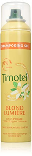 Champú en seco Timotei, Rubio luminoso, 245ml