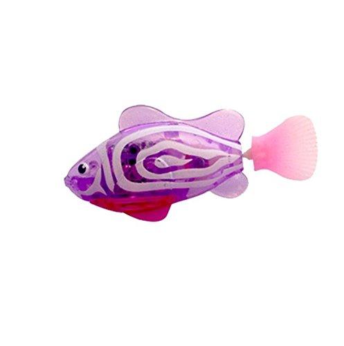 Buweiser Emulation Elektronische Fisch Baby Schwimmen Bad Elektrisches Bad Licht Spielzeug Magisches Licht Sensing 1 STÜCK (G)