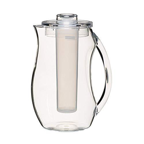 Kitchen Craft Coolmovers Kanne aus Polycarbonat, inkl. Eiseinsatz und Deckel, 2,3l
