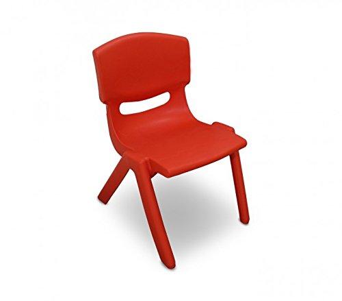 MEDIA WAVE store 173710 Silla de plástico Resistente para niños 26x30x50 cm...