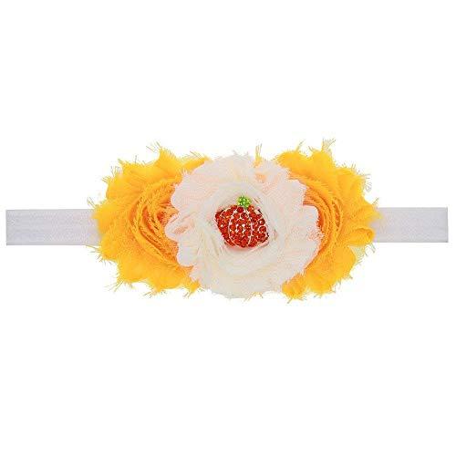 Qiusa Halloween-Baby-Mädchen-Kopfschmuck-elastisches Haarband (Farbe : -