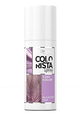 Colorista 1 Jour Spray Couleur Temporaire pour Cheveux Lavender