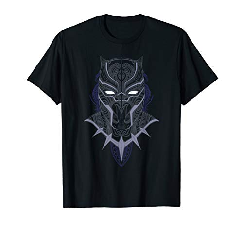 Marvel Black Panther Paisley Print T-Shirt (Black Panther-marvel Shirt)