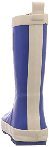 Kamik Raingame, Bottes en caoutchouc de hauteur moyenne, non doublées mixte enfant Bleu - Bleu (DK.BLUE/DBL)