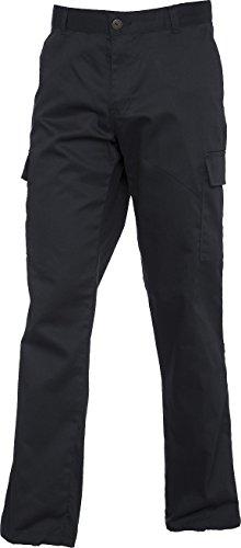 UC905 - Pantalon de style cargo pour femmes (245 g/m²) - Noir - pour femme taille 46