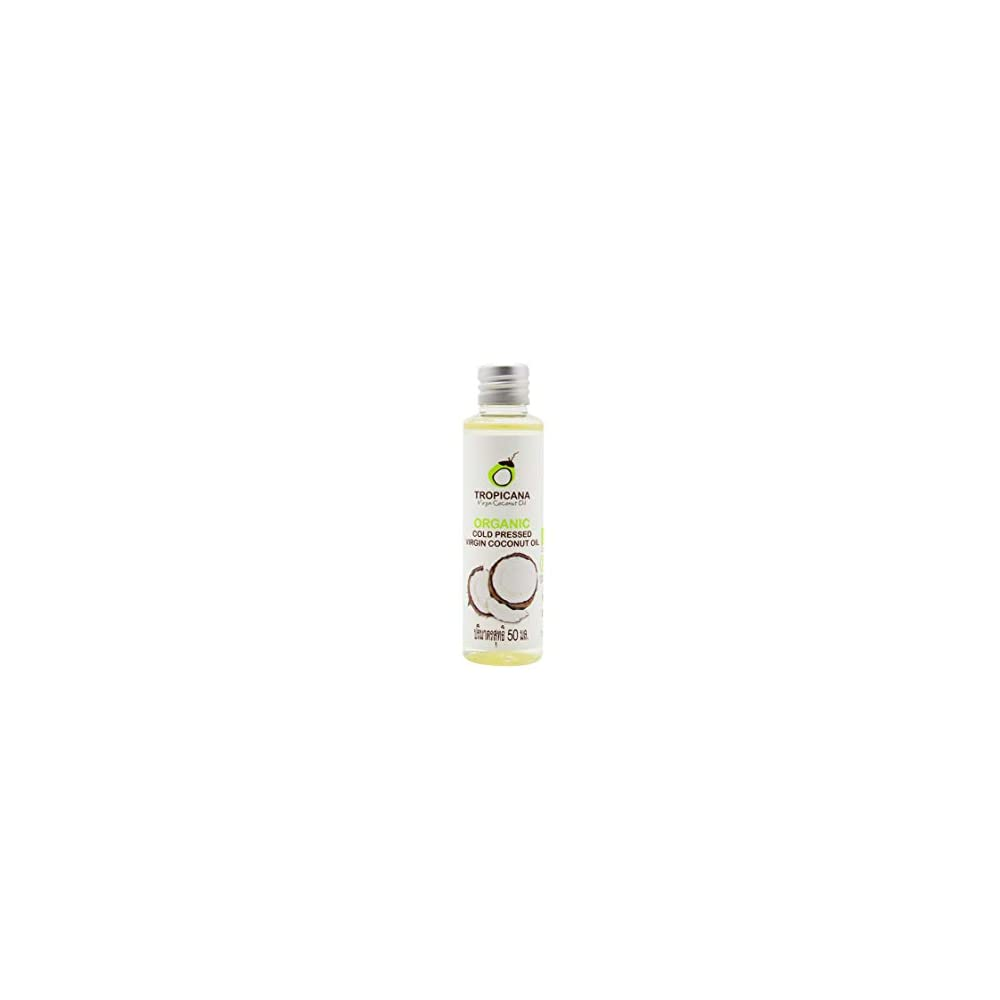 Tropicana Oil Bio Kokosnussl Extra Nativ In 4x50 Ml Coconut 100 Vegan Kokosl Fraktioniert Bio Qualitt Nativ Und Kaltgepresst Fr Haare Haut Kochen Organic Cocos 4x50ml Im Packet