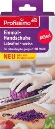 Profissimo Einmal-Handschuhe latexfrei, 1 Packung mit 60 Stück