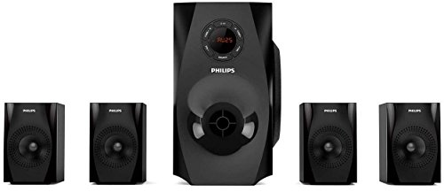Philips SPA8150B/94 Multimedia Speaker 4.1 (Black)