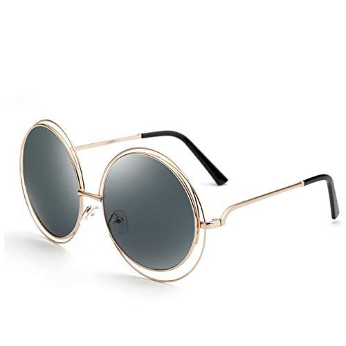 Daawqee Retro Round Women Sunglasses Fashion Designer Vintage Ladies Sun Glasses For Women Big Frame Oculos De Sol Female 2