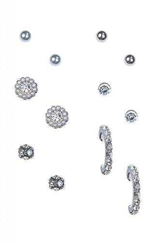 lux-accessori-con-finte-perle-orecchini-a-lobo-a-forma-di-cerchio-