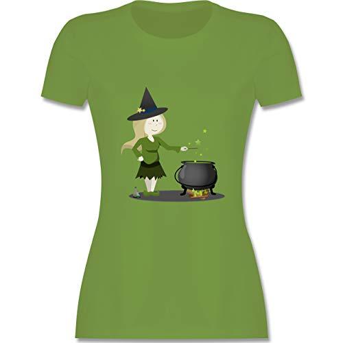 exe - XXL - Hellgrün - L191 - Damen Tshirt und Frauen T-Shirt ()