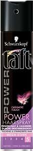 Drei Wetter Taft Cashmere Power Haarspray, mega starker Halt, 2er Pack (2 x 250 ml)