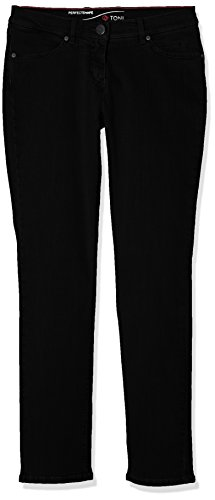 TONI Damen Jeans (Schmales Bein) Perfect Shape Slim, Black (Perfect Black 089), W33/L29 (Manufacturer Size:40K)